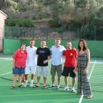 Junta directiva del Deià Club de Tenis